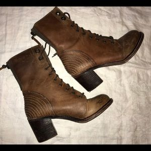 Genuine leather boots by ZiGigirl